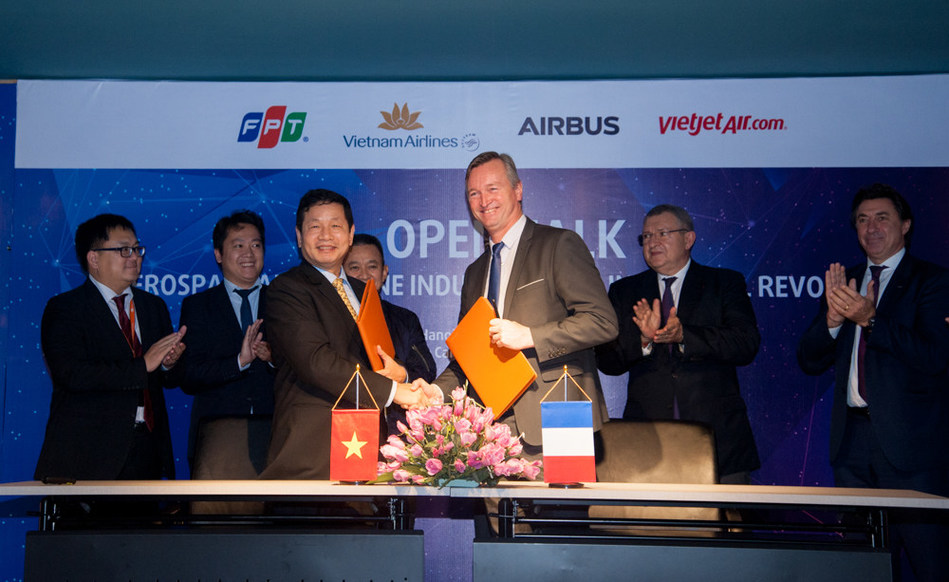 Airbus and FPT signed MOU of digital transformation