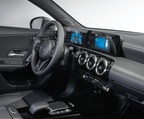 The new Mercedes-Benz A-Class features Visteon's industry-first SmartCore(tm) cockpit domain controller.