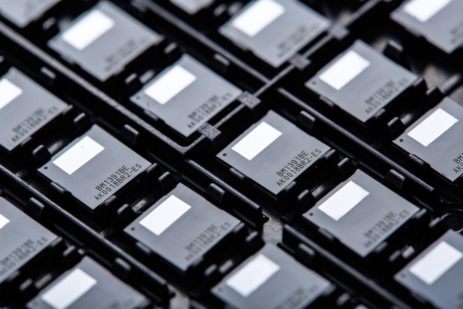 New Bitmain next-generation ASIC chip with ratio of energy consumption to mining capacity as low as 42J/T