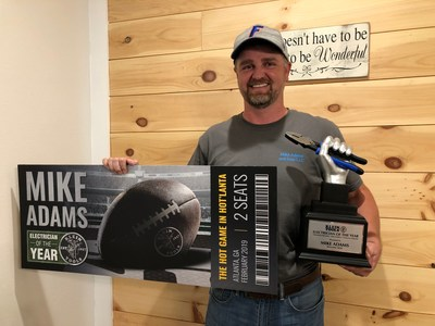Klein Tools' 2018 Electrician of the Year: Mike Adams