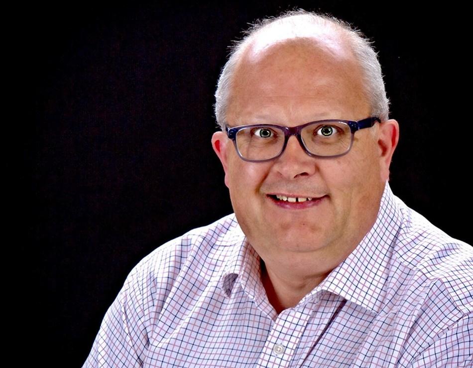 Slit Lamp Imaging Specialist, Steve Thomson (PRNewsfoto/Haag-Streit UK)