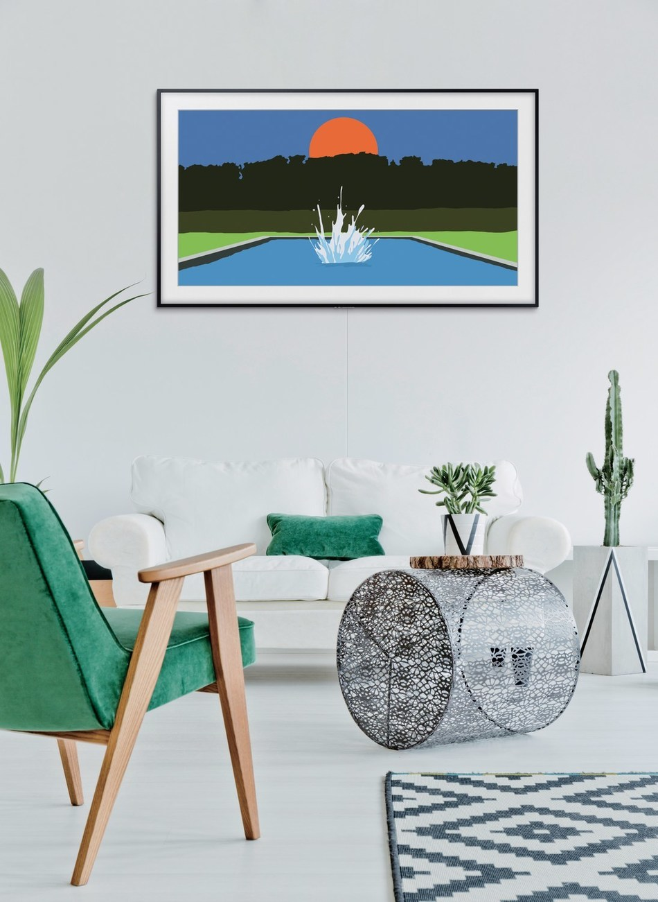 TV When It's On, Art When It's Off: Samsung Transforms Your Living Room with The Frame for 2018. (CNW Group/Samsung Electronics Canada)