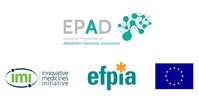 The European Prevention of Alzheimer's Dementia (EPAD) Logo (PRNewsfoto/EPAD)