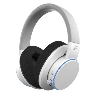 SXFI AIR Headphones in white.