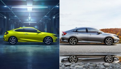 The 2019 Honda Civic Sedan and Coupe receive a number of upgrades aimed at further solidifying Civic's status as America's retail best-selling passenger car.