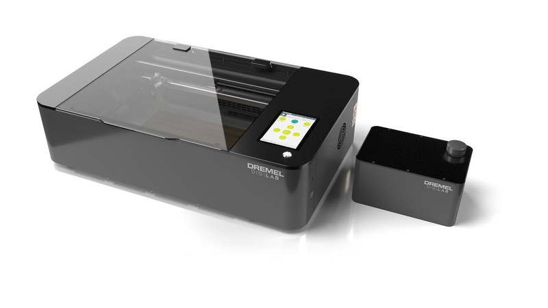 The Dremel DigiLab Laser Cutter is the brand's first laser cutter that allows users to quickly and neatly customize a variety of materials. Geared towards small business owners, it can cleanly slice through materials like wood, acrylic, leather and paper as well as engrave tougher surfaces such as glass and metal.