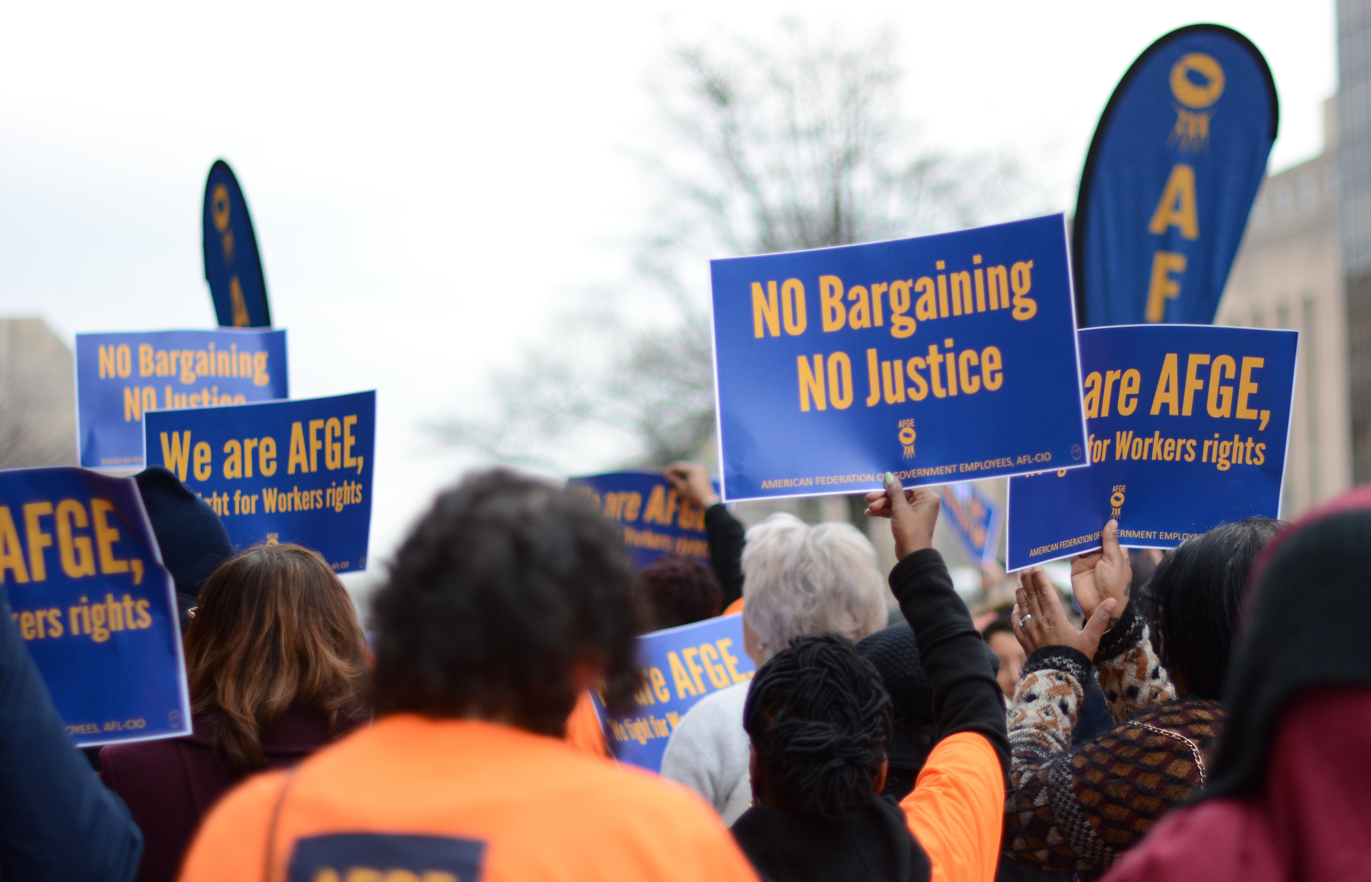 The union representing nearly 4,000 Department of Education employees nationwide, the American Federation of Government Employees, is echoing a call from three U.S. Senators for the department to return to the bargaining table and negotiate a new contract that does not violate workers' rights.