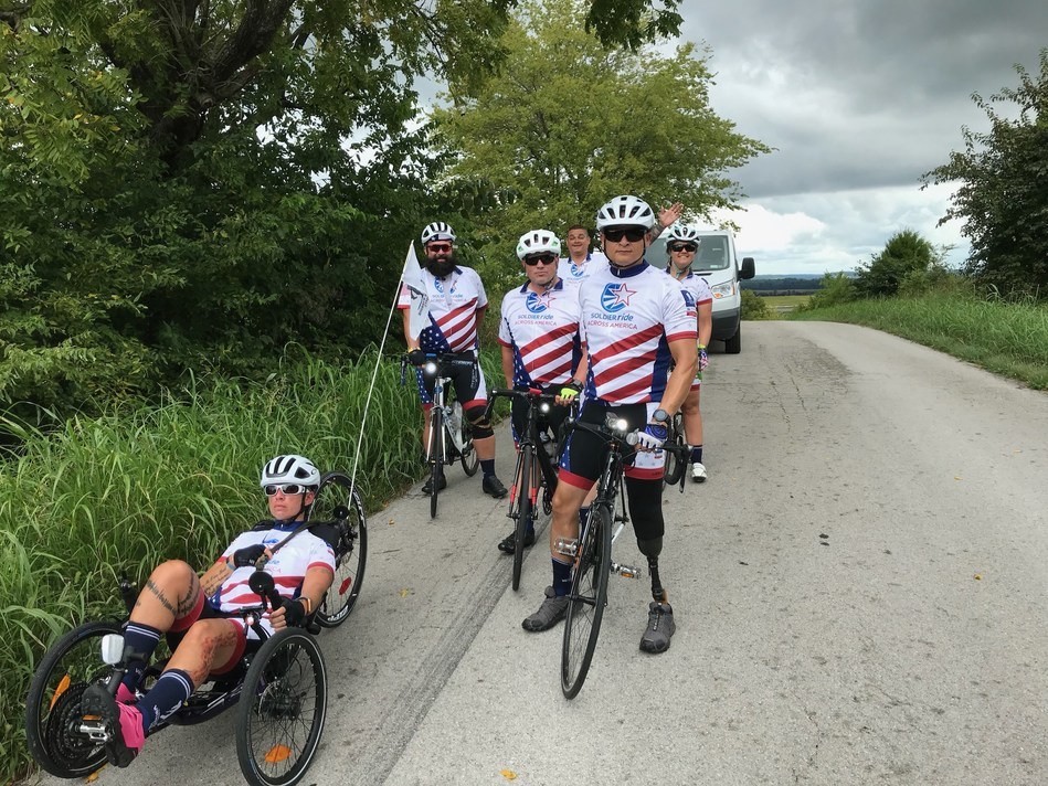 Wounded Warrior Project helps injured veterans prepare for the Soldier Ride Across America journey, both physically and mentally. The riders are pedaling through Tennessee this week. But before the bicycle spokes start turning, a safety net opens to support riders through every mile of the journey.