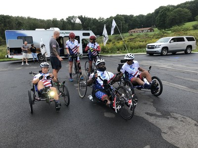 Veterans gather for Soldier Ride Across America