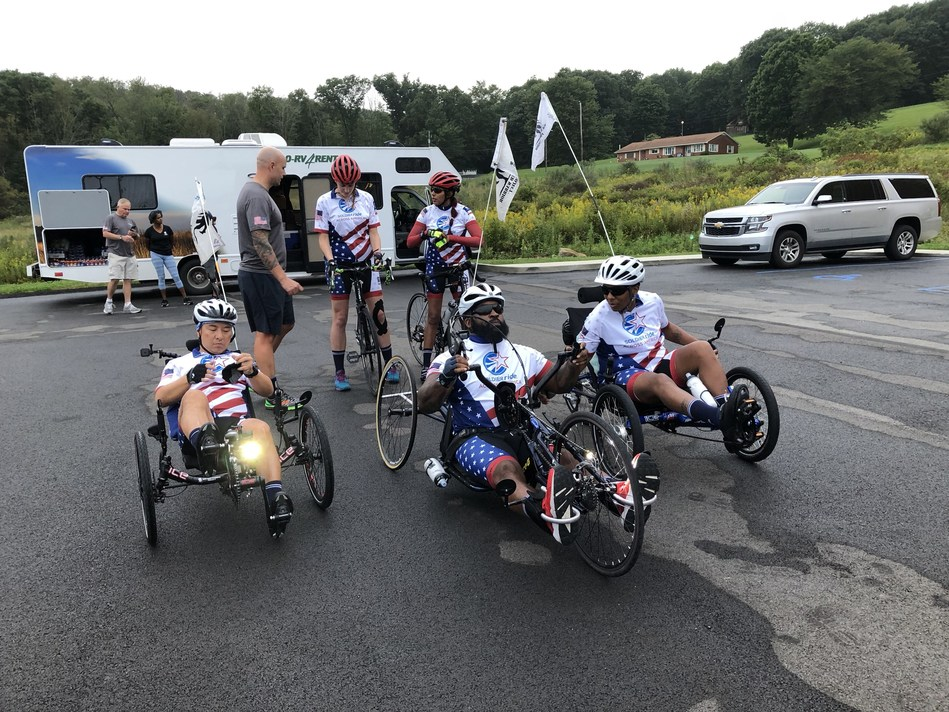 Soldier Ride Across America riders have Wounded Warrior Project  coaching, but how far they take that coaching depends on them. They also have one overarching trait: they are supportive of each other through the entire journey.