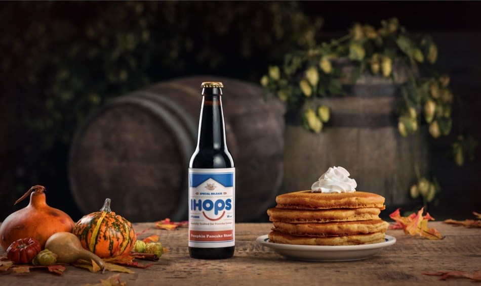 Available Only at Select Festivals and Bars in the Northeast, IHOPS Takes its Cue from the Craveable Flavors of IHOP Restaurants' Limited-Time Seasonal Pancake Line-Up (PRNewsfoto/IHOP Restaurants)