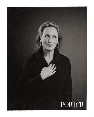 Meryl Streep photographed by Nicolas Guerin.