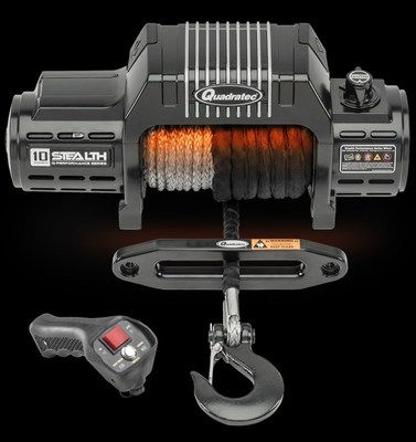Quadratec Introduces Next Generation Q-Performance Stealth Winch