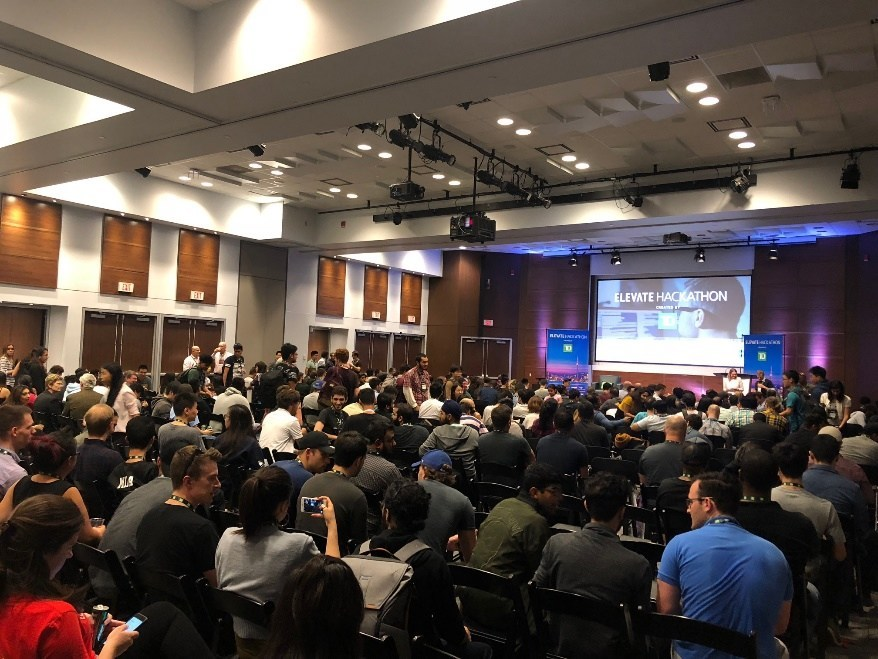 500+ hackers present their innovative solutions at Elevate Hackathon (CNW Group/TD Bank Group)