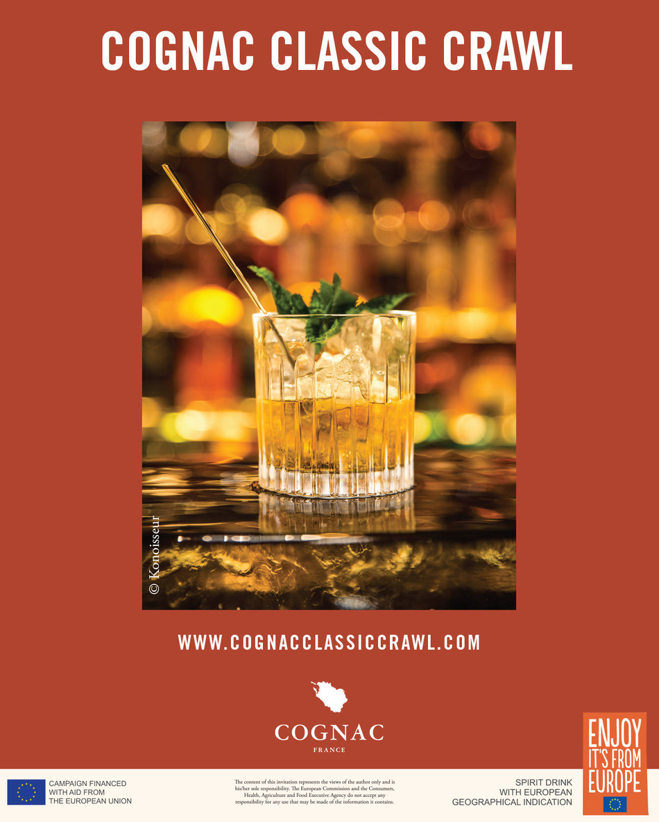 The Cognac Classic Crawl will take place in Chicago and Los Angeles during the month of October.