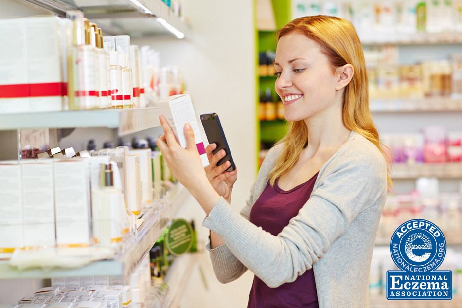 National Eczema Association's redesigned Seal of Acceptance™ product directory is a mobile friendly, searchable database to make it easier than ever to find personal care products for eczema.