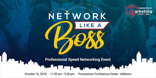 Network Like a Boss - Atlanta Midtown: Oct 16, 2018