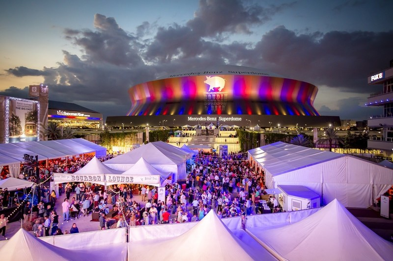 Chef Emeril Lagasse's annual fundraiser takes place in New Orleans on Nov. 9, 2018.