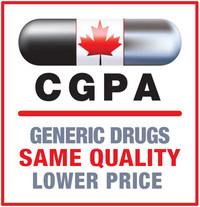 Canadian Generic Pharmaceutical Association (CNW Group/Canadian Generic Pharmaceutical Association)