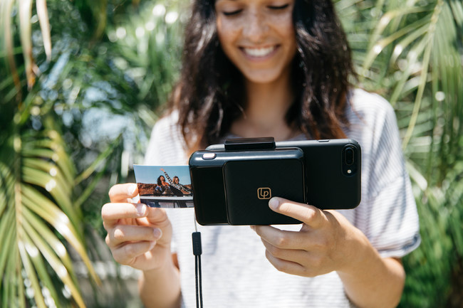 The Instant Print Camera available exclusively at Apple