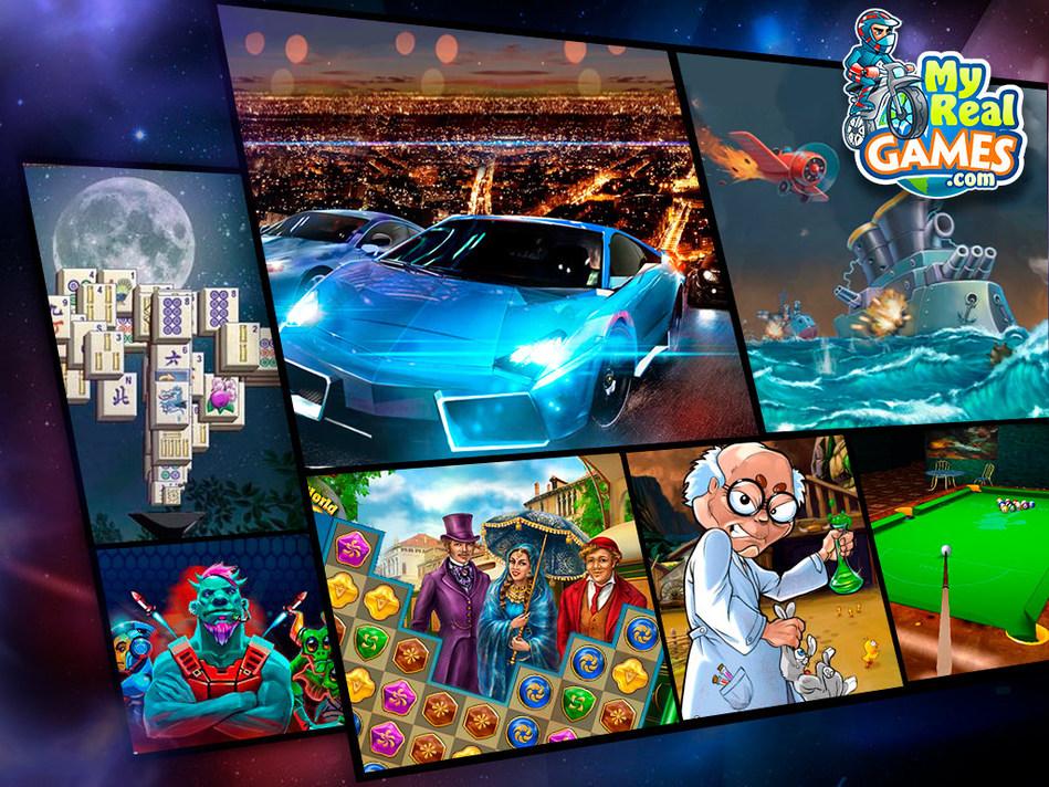 Free Games at MyRealGames (PRNewsfoto/MyRealGames.com)