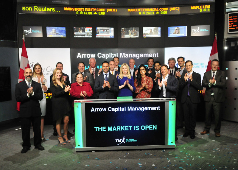 Arrow Capital Management Inc. Opens the Market (CNW Group/TMX Group Limited)