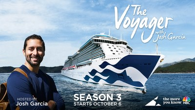 Carnival Corporation launches third seasons of America's most popular travel TV series, featuring African, Indian and Middle East destinations, along with Cambodia, Dublin and Sri Lanka, highlighting global breadth and diversity of Carnival Corporation's cruise line brands.