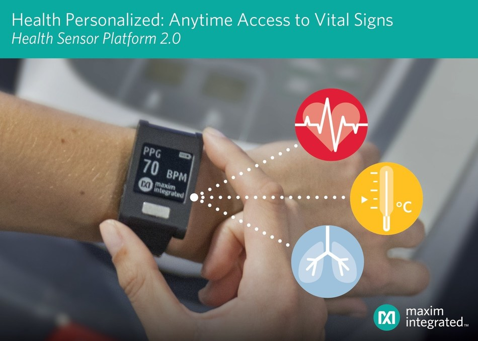 Maxim Integrated wrist-worn wearable development platform features ECG, heart rate and body temperature monitoring