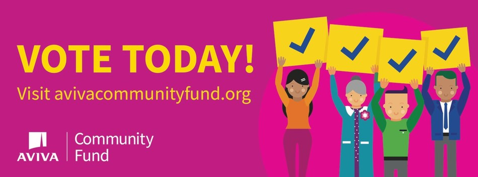 We believe people are #BetterTogether. Voting is now open! Vote today at avivacommunityfund.org (CNW Group/Aviva Canada Inc.)