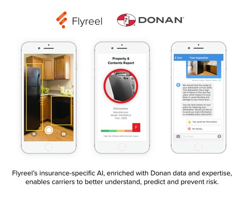 Flyreel's insurance-specific AI, enriched with Donan data and expertise, enables carriers to better understand, predict and prevent risk.