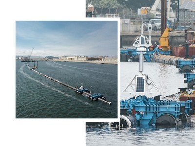 Iridium satellite broadband terminals are being deployed as part of The Ocean Cleanup's use of advanced technologies to rid the world's oceans of plastic.