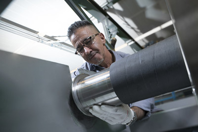 Pronexos' activities include carbon fibre rollers for the paper, film/foil and converting industries as well as specialist manufacturing for the aerospace and semiconductor industries. (PRNewsfoto/Pronexos)