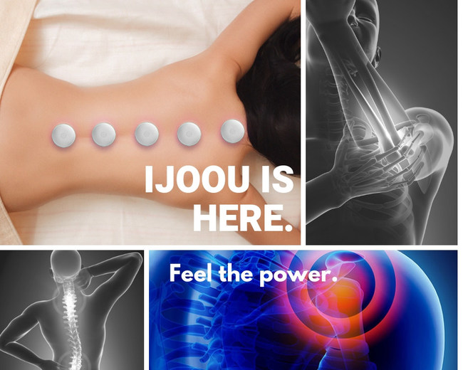 iJoou: Smart Moxibustion Pain Relief Device