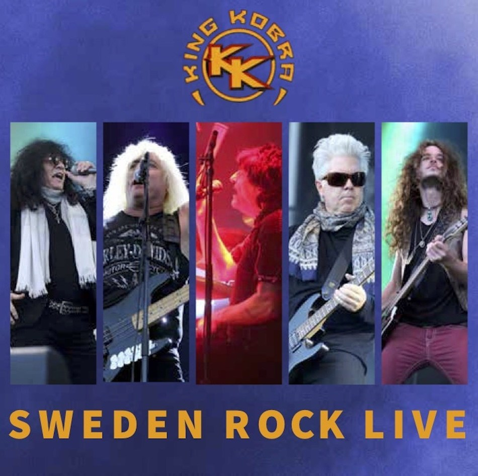 "Legendary band King Kobra led by legendary drummer Carmine Appice strikes again! The band is releasing its first ever live album ""Sweden Rock Live"". It is available now for download and across all streaming platforms. Recorded in 2016 at the Sweden Rock Festival the album features original members Appice, Johnny Rod, David Michael Phillips and vocalist Paul Shortino (who has been in King Kobra since 2010).  Filling in for Mick Sweda was Jordan Ziff."