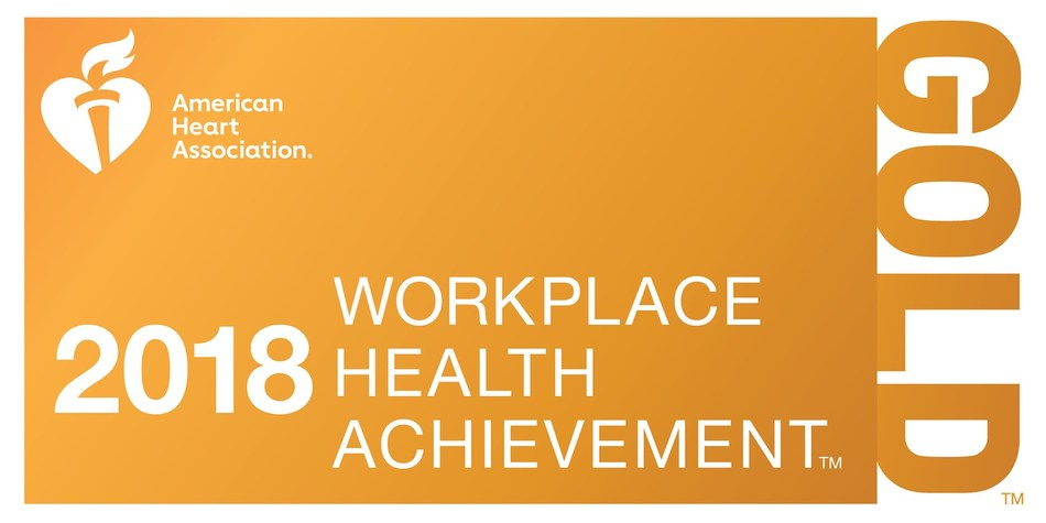BBVA Compass receives Gold level recognition for the second consecutive year in American Heart Association's 2018 Workplace Health Achievement Index.