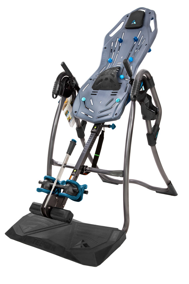 Introducing the most innovative inversion table on the market - the Teeter FitSpine LX9.