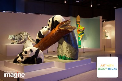 Art with LEGO® Bricks is an award-winning and record-breaking exhibition that uses beautiful works of art made from simple toys to explore animal endangerment, the balance of ecosystems, and mankind's relationship with nature. Just as LEGO® pieces interconnect, everything in nature is also connected in a delicate balance. This artful exhibition illustrates that balance in a beautiful, inspirational setting and is produced by Imagine Exhibitions.