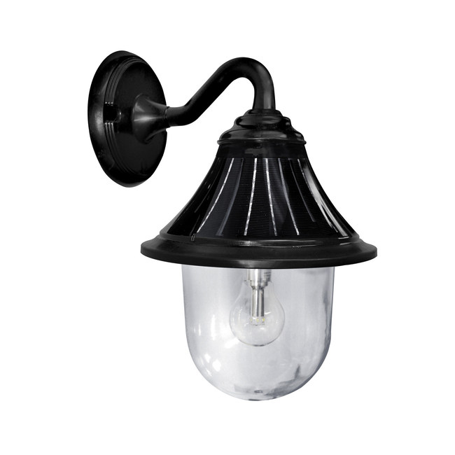 Gama Sonic Orion Solar Wall Light with Morph Technology