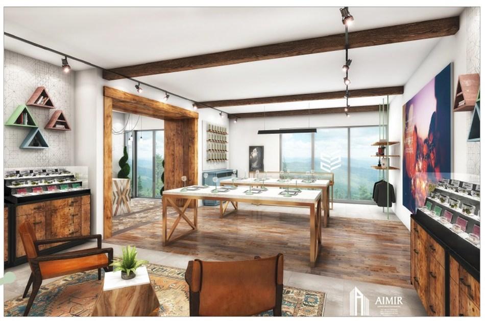 Spiritleaf store concept design (CNW Group/Inner Spirit Holdings)