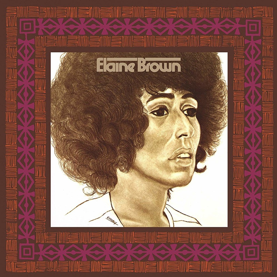 "'Elaine Brown,' the rare, self-titled album from the first and only female Chair of the Black Panther Party, is reissued on vinyl today by Motown/UMe. First issued in 1973 and long out of print, the LP includes the single ""Until We're Free."" The new 150-gram vinyl edition is presented in a tip-on jacket with replicated original artwork."