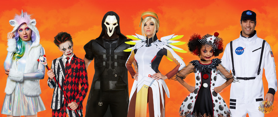 Spirit Halloween Unearths this Season's Haunts and Howls with Annual Top Costume Trends for 2018