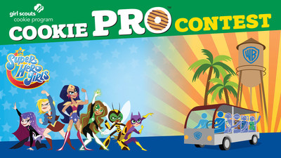 The 24 Cookie Pro™ contest winners will partake in the ambition-building Cookie Entrepreneurship Experience, featuring a DC Super Hero Girls experience at Warner Bros. Studios in California. To learn more about the 2019 Cookie Pro Contest, visit www.girlscouts.org/cookiepro. To join, visit www.girlscouts.org.