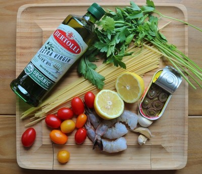 Keep it Simple with a few high quality, fresh ingredients and Bertolli Extra Virgin Olive oil
