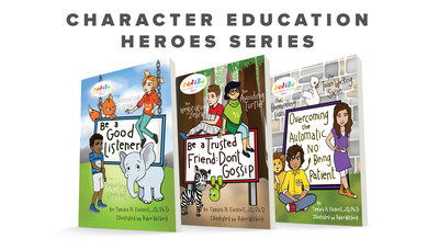 20-Year Project Culminates in a New Character Education Series inspiring kids to have positive self-esteem, practice effective communication, and cultivate core values. CEHeroes.com