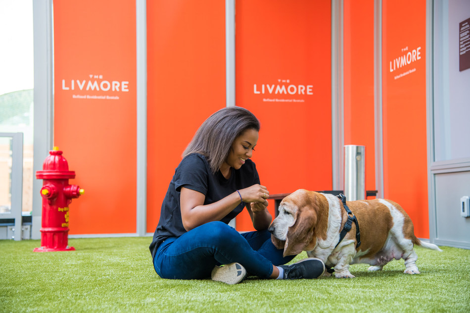 See Why Downtown Apartment Living is for More than just Two-legged Residents! (CNW Group/The Livmore)