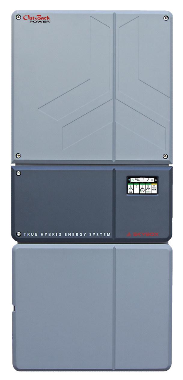 SkyBox True Hybrid Energy System