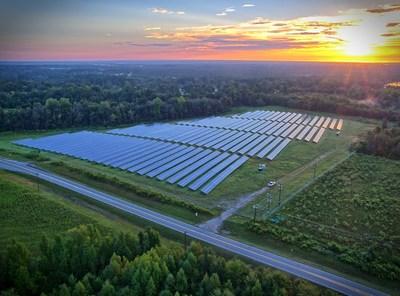 Newly Installed Solar Panels. Credit: United Renewable Energy