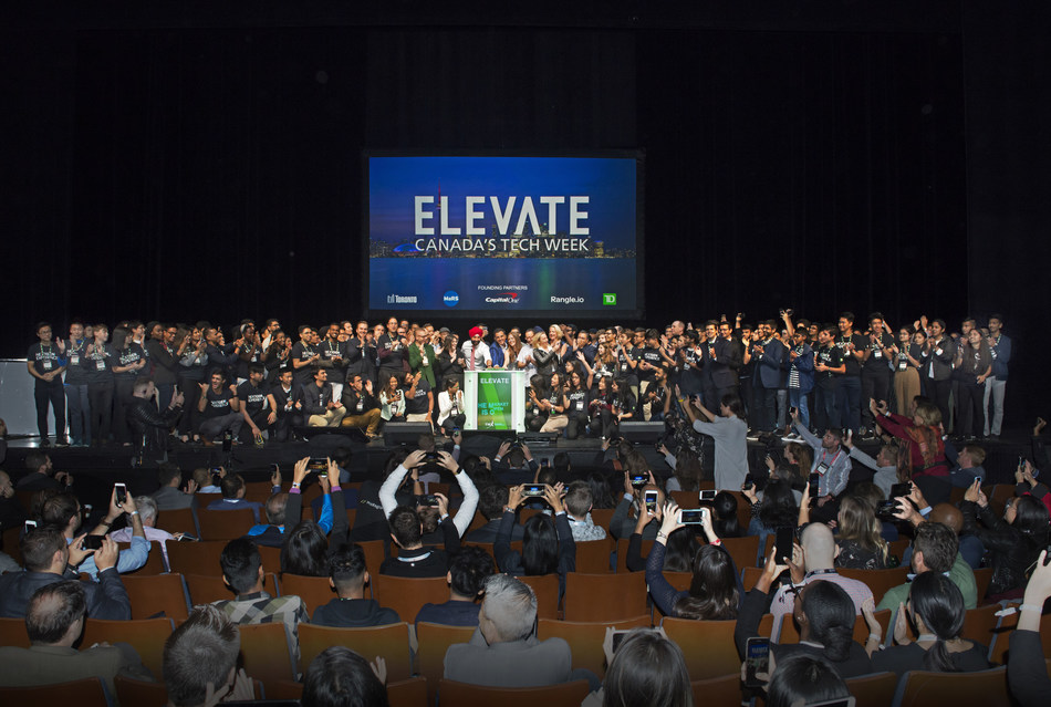 Elevate TechFest opens the Market (CNW Group/TMX Group Limited)