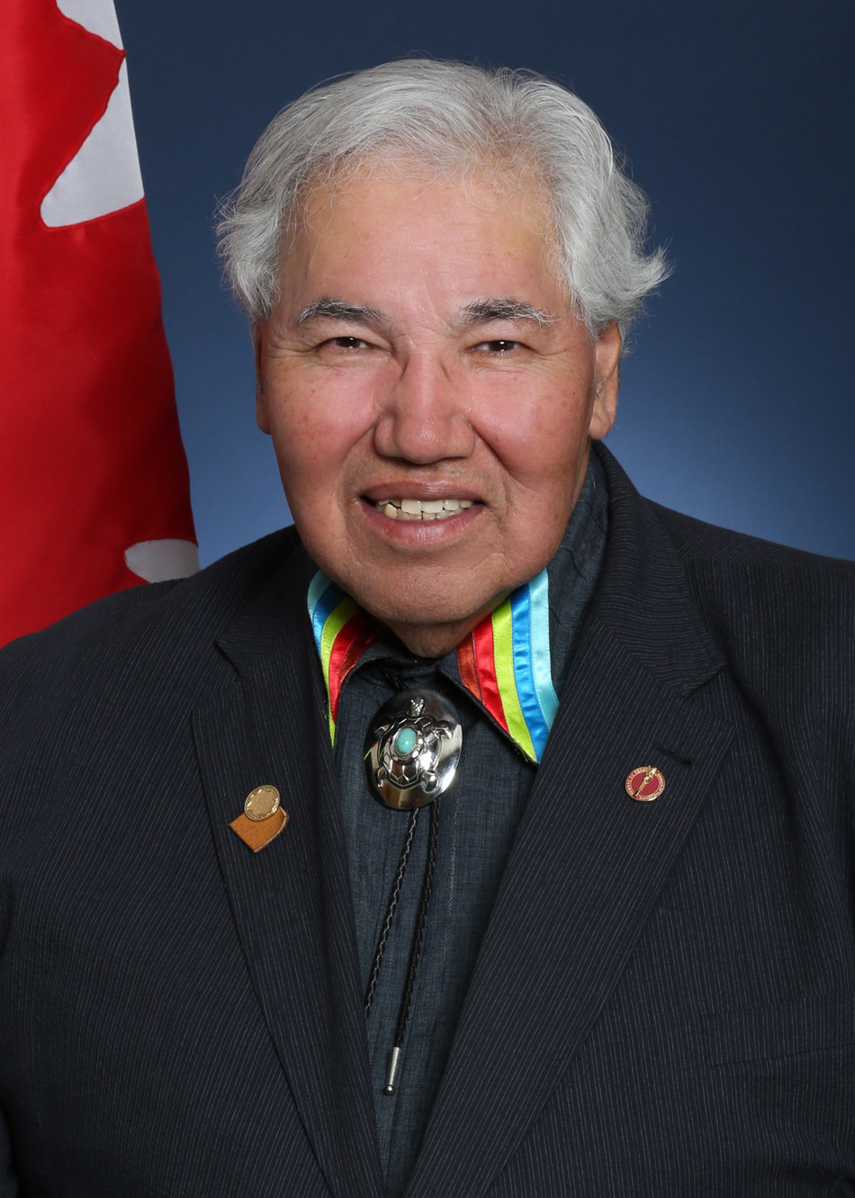 Official Portrait of Senator Murray Sinclair. (CNW Group/The Law Society of Ontario)