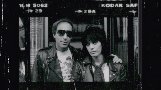 Kenny Laguna and Joan Jett of Joan Jett and the Blackhearts, official 2018 Ambassadors for College Radio Day